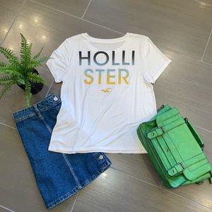 Hollister Women's Print Logo Graphic T-Shirt